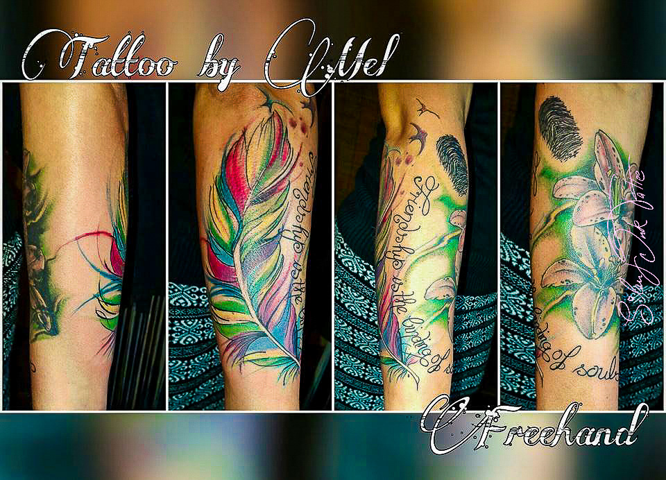 Silent Ink Tattoo - Colour, Hannover, Mel, bunt, farbig