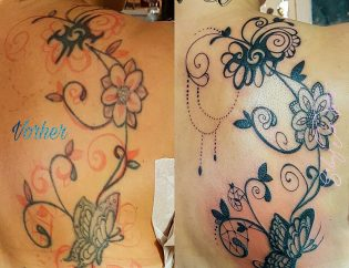 Silent Ink Tattoo - Fresh-Up, Hannover, Mel, colour, bunt