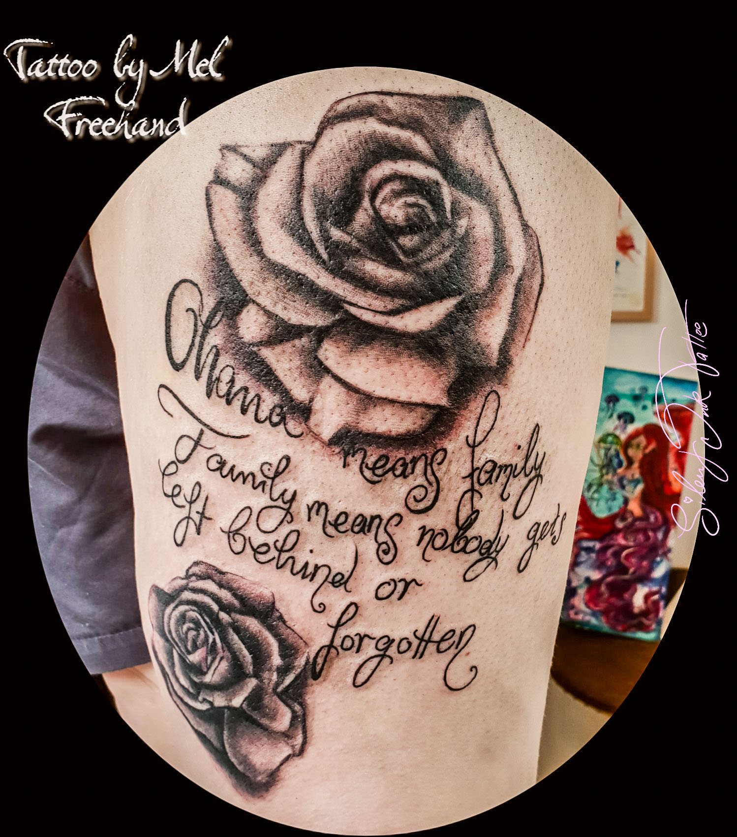 Silent Ink Tattoo, Lettering, Hannover, Mel, Schrift, Typo