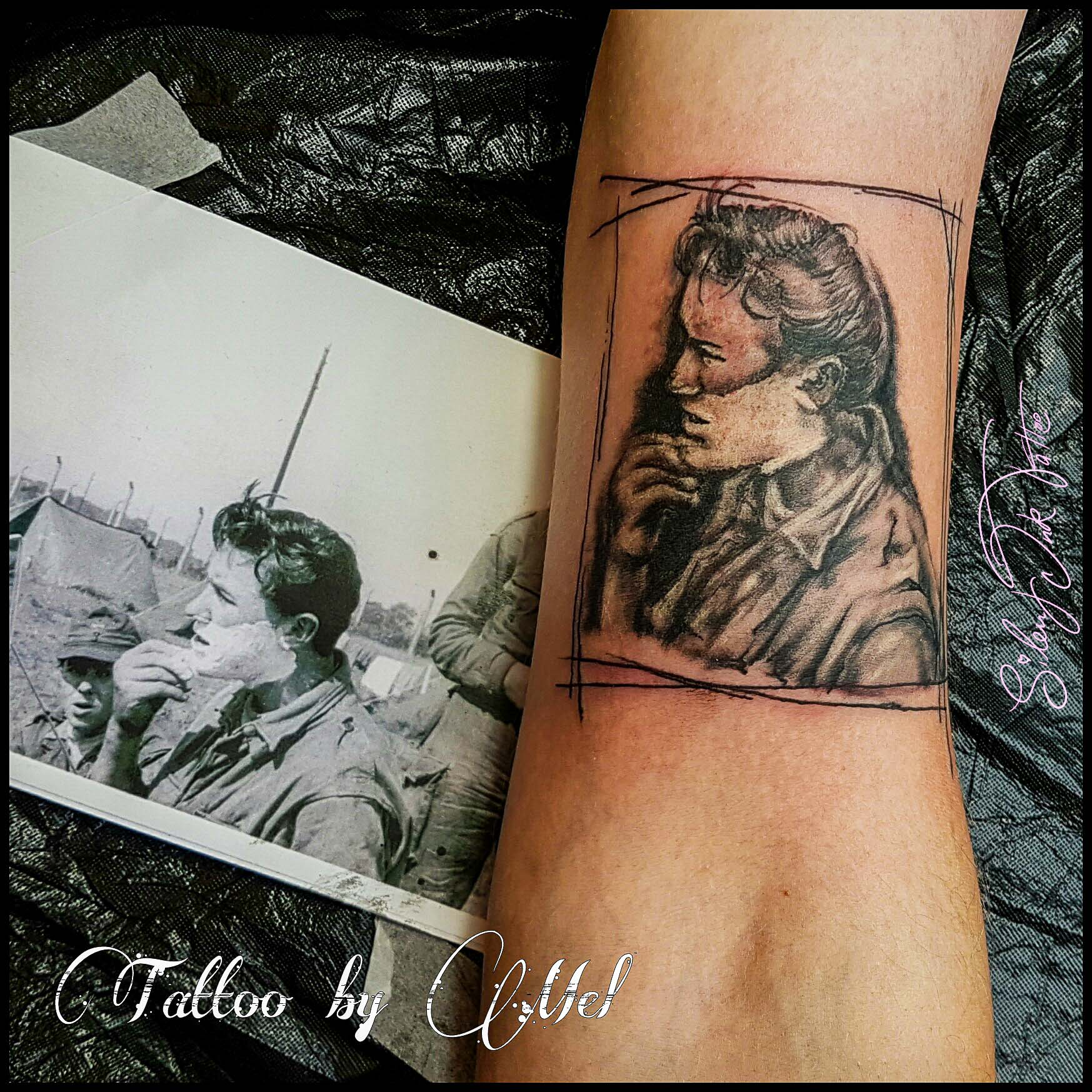 Silent Ink Tattoo, Portrait, Hannover, Mel,
