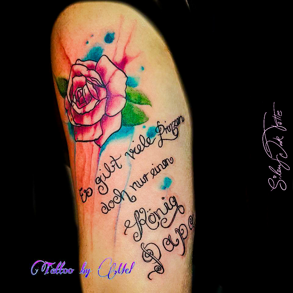 Silent Ink Tattoo - Watercolour, Hannover, Mel, bunt, farbe